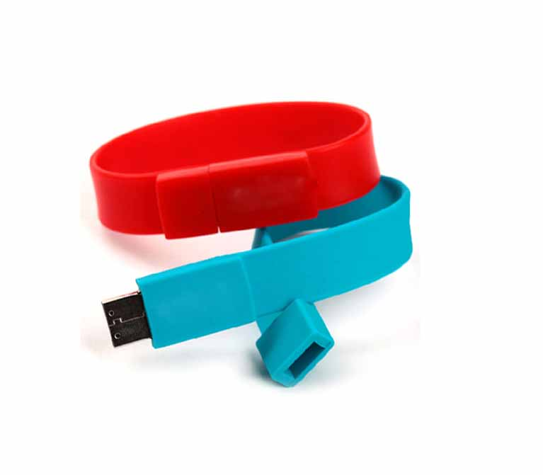 Silicone Bracelet Usb Flash Drive
